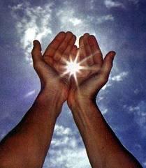 lumière mains